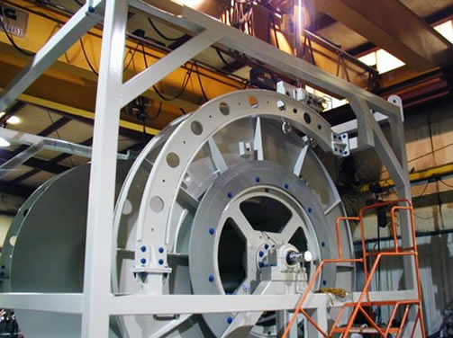 Related Photo: Specialized Rotary Unions for Offshore Hose Reels