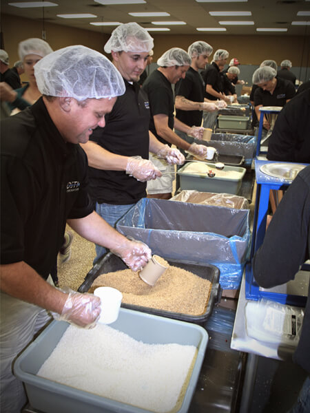 Related Photo: DSTI Volunteers at Feed My Starving Children
