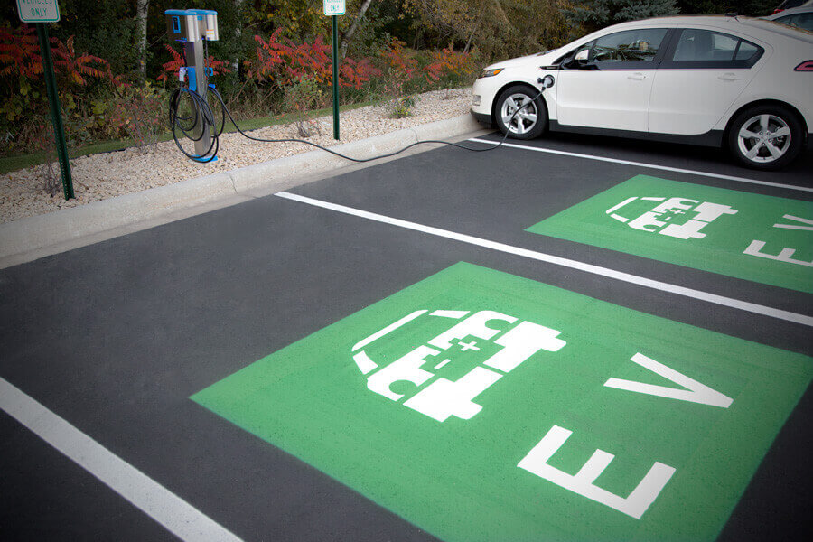 Related Photo: DSTI Installs Electric Vehicle Charging Stations