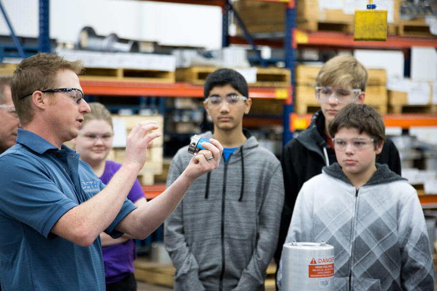 Related Photo: DSTI Hosts Brooklyn Junior High STEM Students For Manufacturing Tour