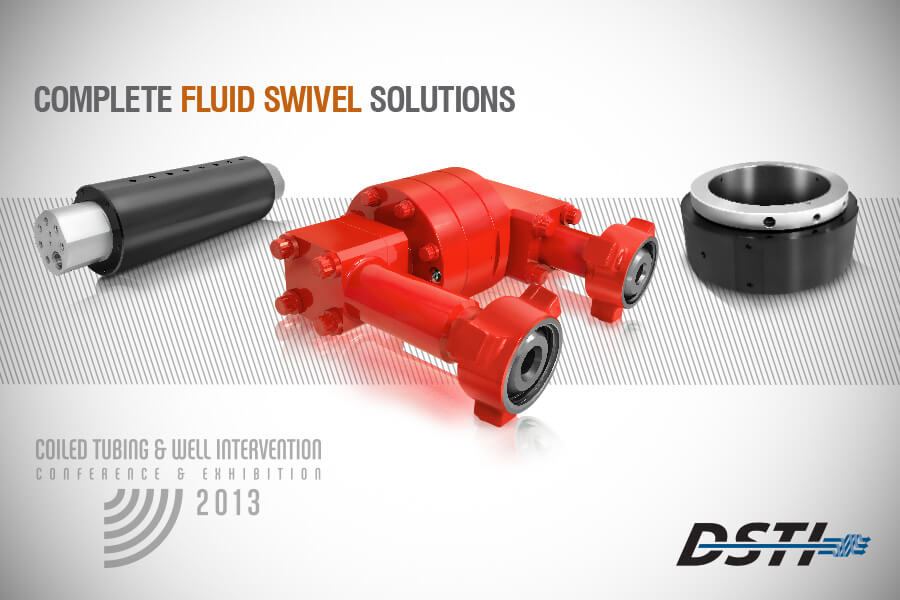 Related Photo: DSTI Launches Coiled Tubing Fluid Swivels at SPE ICoTA Conference 2013