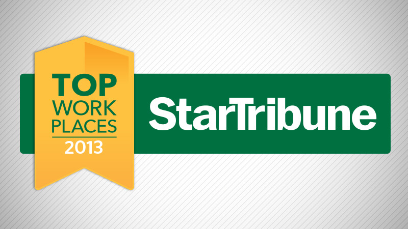 Related Photo: DSTI Named to Star Tribune's Top Workplaces 2013