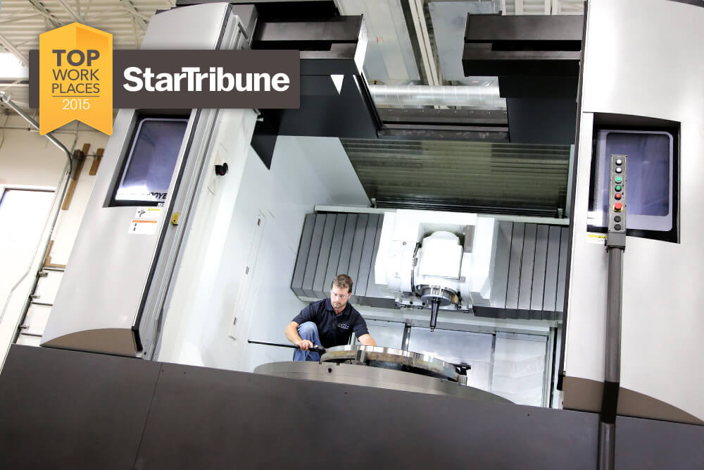 Related Photo: Star Tribune Names DSTI a 2015 Top Workplace