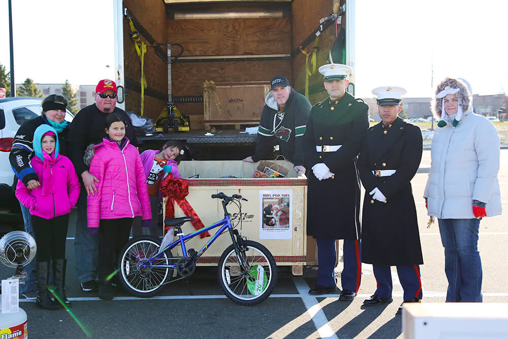 Related Photo: DSTI Supports Children in Toys for Tots Drive with Andover Community Help