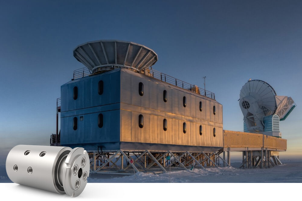Related Photo: DSTI Plays Role in Astrophysics Research from South Pole