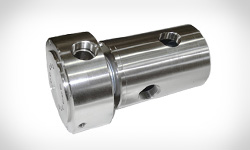 DSTI Designs Specialized Stainless Steel Rotary Unions for High-Speed Water Service