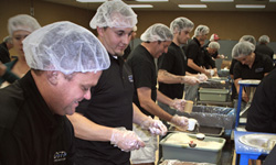 DSTI Volunteers at Feed My Starving Children
