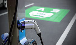 DSTI Installs Electric Vehicle Charging Stations