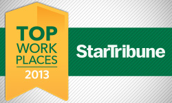 DSTI Named to Star Tribune's Top Workplaces 2013