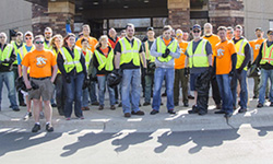 DSTI Employees Celebrate Earth Day with Community Clean-Up Event