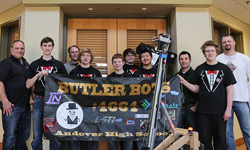 DSTI Supports Local High School in FIRST Robotics Competition