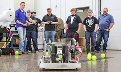 DSTI Support Sends Local High School Robotics Team Full Steam Ahead