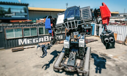 MegaBots and DSTI Team Up to Build Giant Fighting Robots