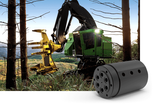 DSTI's Heavy Equipment Fluid Swivel Joints for Construction, Agriculture & Forestry Equipment