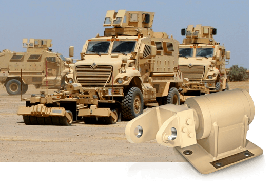 DSTI's Defense Fluid Rotary Joints for Land Combat & Transportation Vehicles