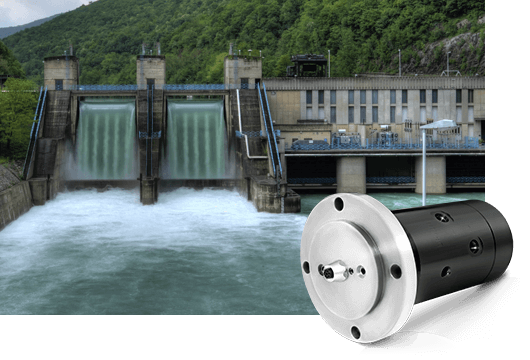 DSTI's Alternative Energy Fluid Rotary Joints for Hydroelectric Turbines