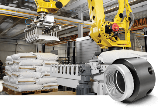 DSTI's Factory Automation Fluid Rotary Unions for Material Handling & Industrial Robotics