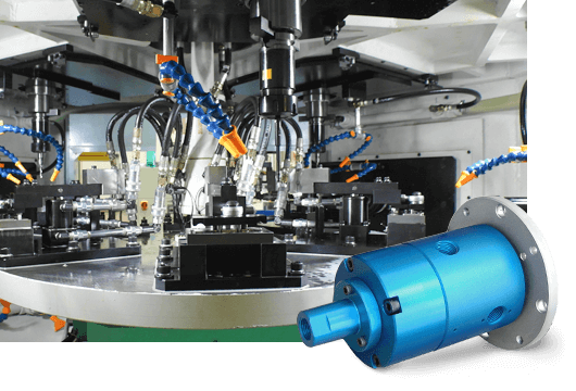DSTI's Factory Automation Fluid Rotary Unions for Rotary Table & Workholding Systems