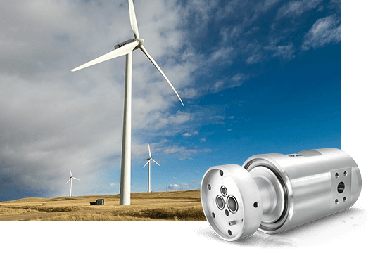 DSTI's Alternative Energy Fluid Rotary Joints for Wind Power